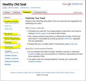 feedburner for wordpress tutorial