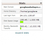 getting ip address expand stats