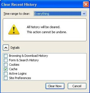How to remove history in Firefox