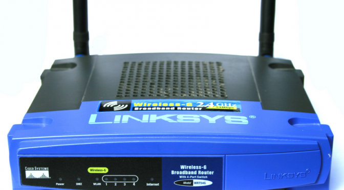 change password on linksys router