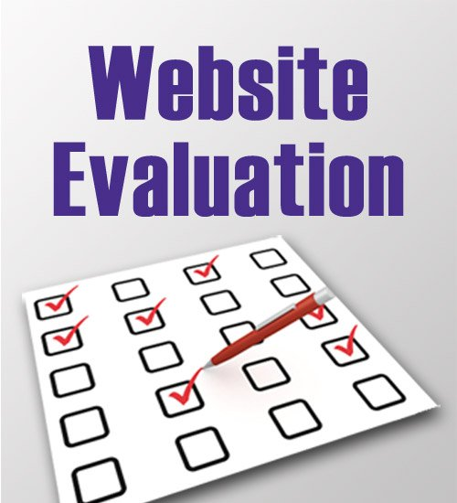 website evaluation