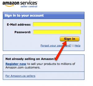 Amazon Seller Account Login