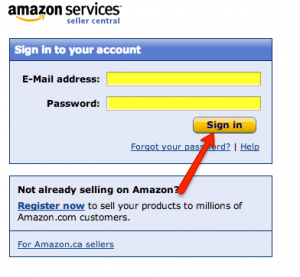 Amazon Seller Account Login