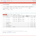 Google Adwords Campaign Page 1