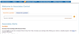 Setting up an Amazon Affiliate