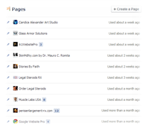 How to set up a facebook page