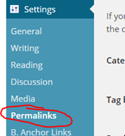 Changing Permalinks in WordPress Properly