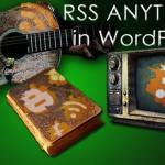 rss anything wordpress plugin