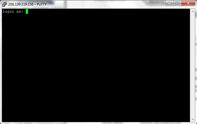 login as putty shell shock tutorial