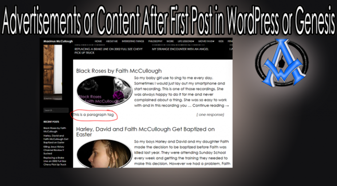 Advertisements-or-Content-After-First-Post-in-WordPress-or-Genesis