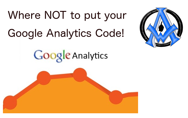 Google Analytics Tracking Code Placement