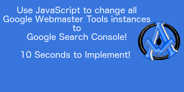 Google Webmaster Tools is now Google Search Console