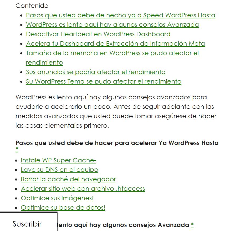 a1websitepro in spanish