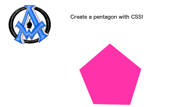 create-a-pentagon-with-css
