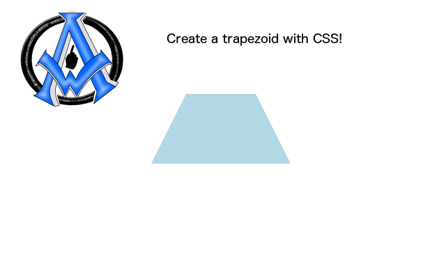 create-a-trapezoid-with-css