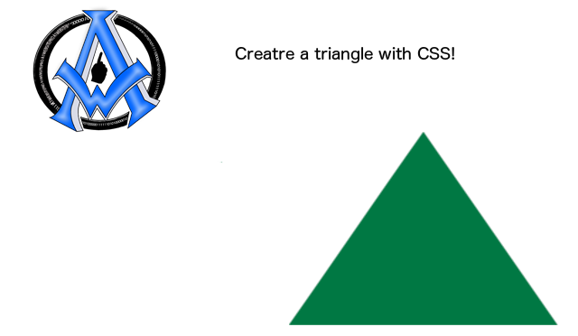 create-a-triangle-with-css