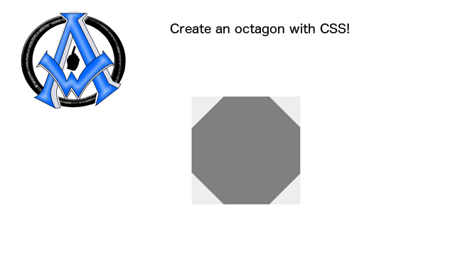 create-an-octagon-with-css