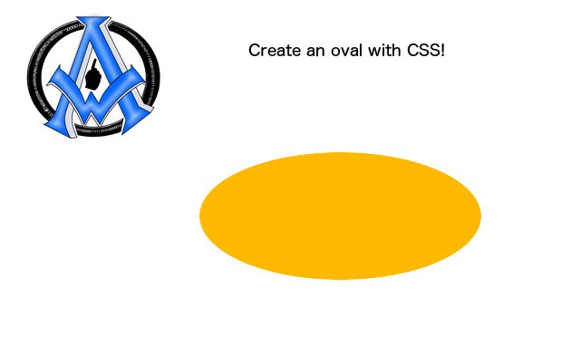 create-an-oval-with-css