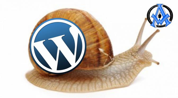 wordpress is slow