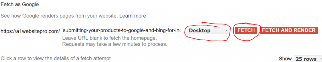 Fetch Google Desktop