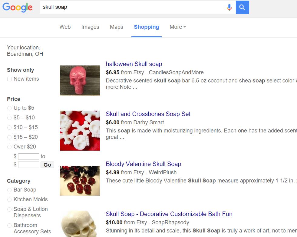 prepare for google shopping
