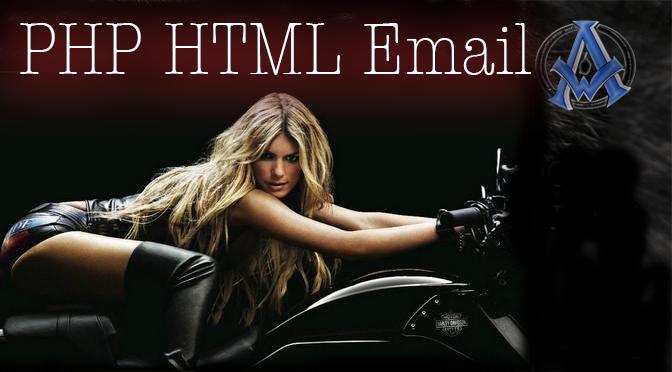 php-html-email-script