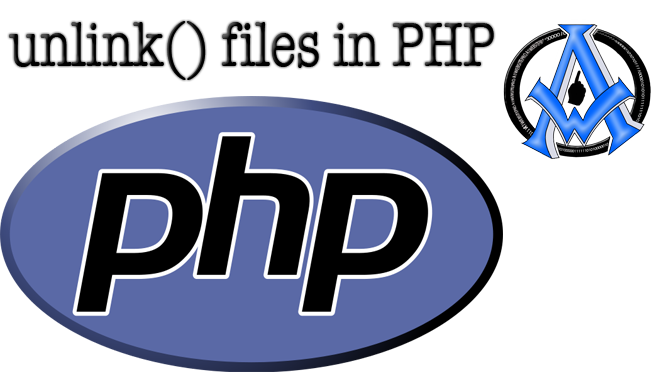 Warning: unlink(): http does not allow unlinking in PHP