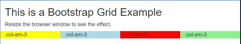 4 Column Grid Layout