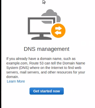 Click on DNS Management