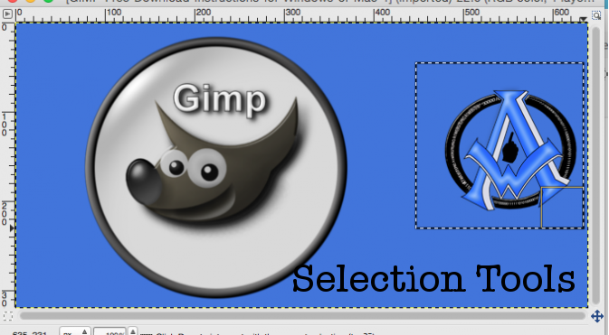 Cut Out Sections Of An Image In GIMP