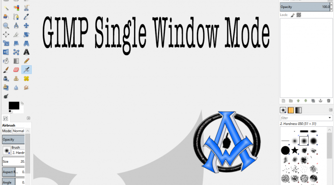 How To Put Gimp Into One Single Window Mode