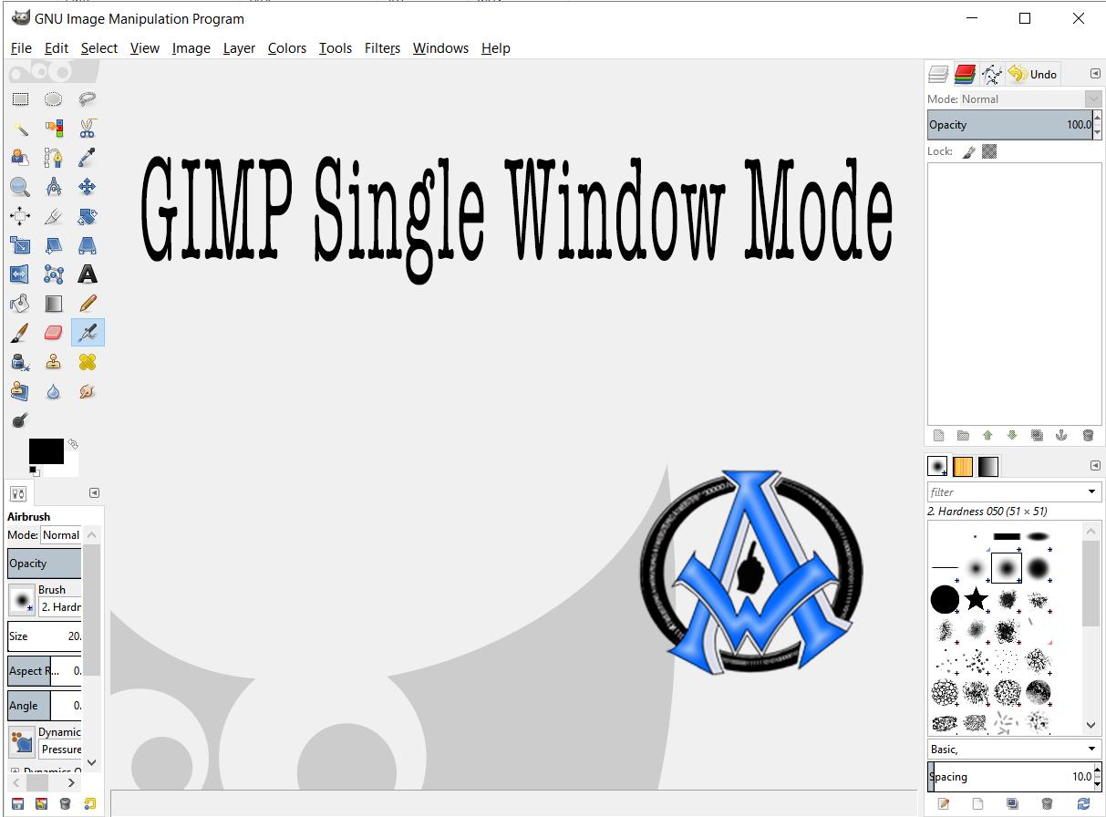 How To Put Gimp Into One Single Window Mode