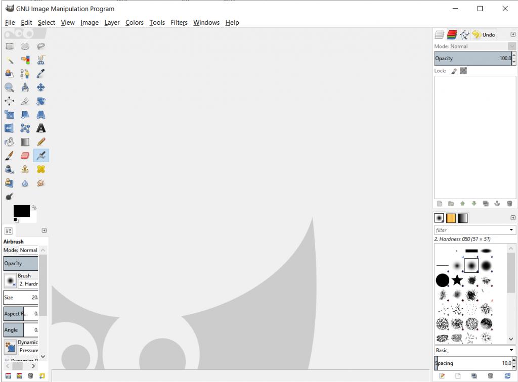 Single Window Mode for GIMP