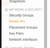 generate an elastic ip