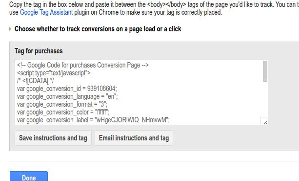 Conversion Code