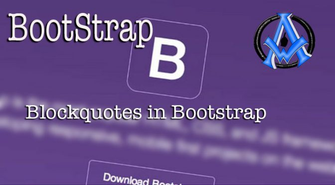 blockquotes-in-bootstrap