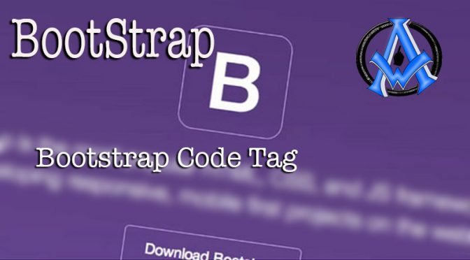 bootstrap-code-tag
