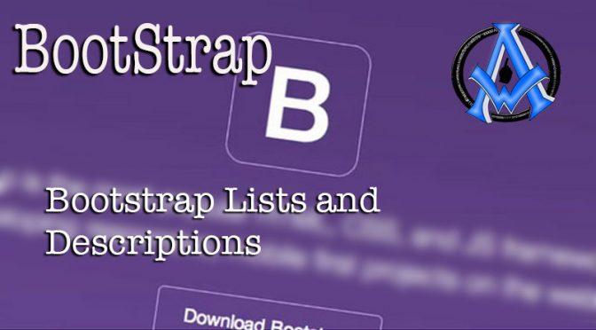 bootstrap-lists-and-descriptions