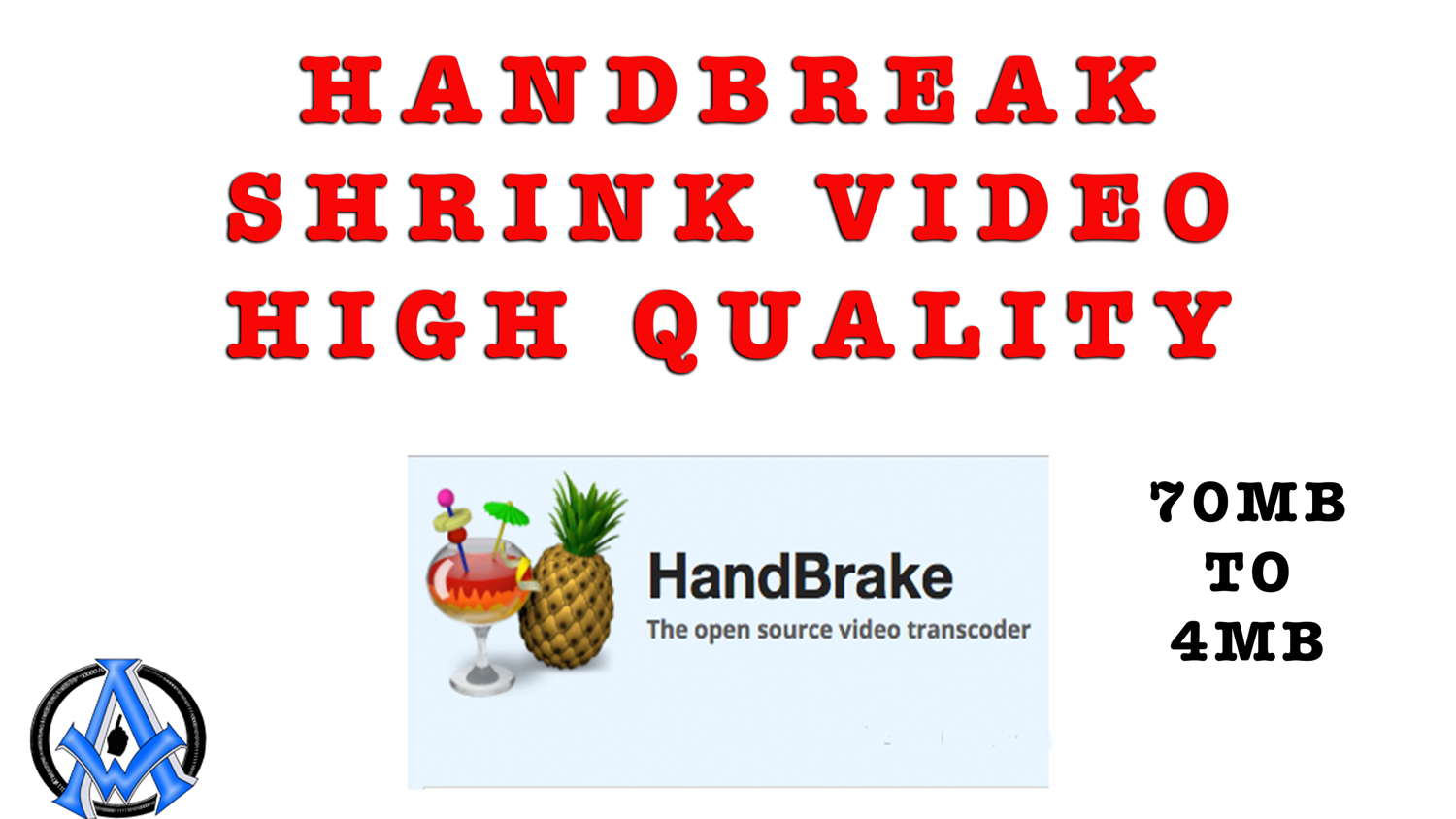 shrink the size of a video