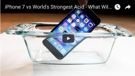 iPhone 7 vs World's Strongest Acid - What Will Happen?