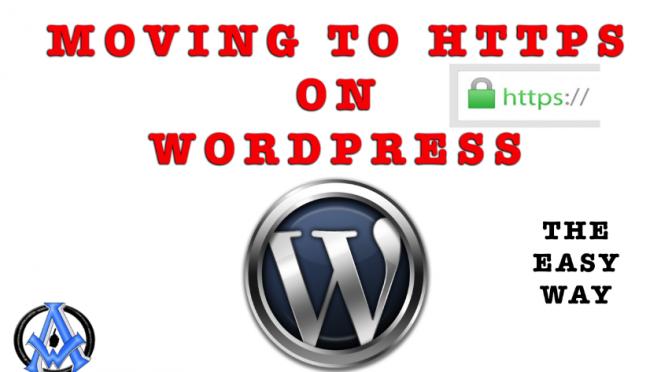 move to https on wordpress