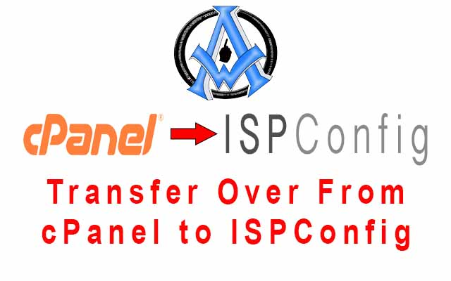 move from cpanel to ispconfig product listing