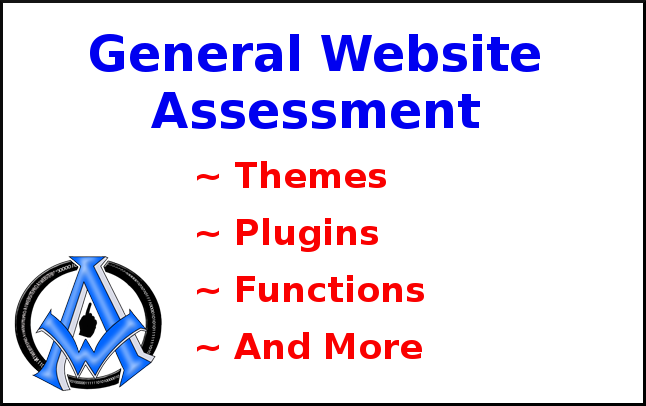 General website assessment. We review your website concern and provide possible solutions or help you fix the issue.