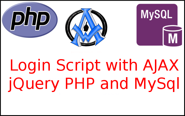 Login Script with AJAX jQuery PHP and MySql