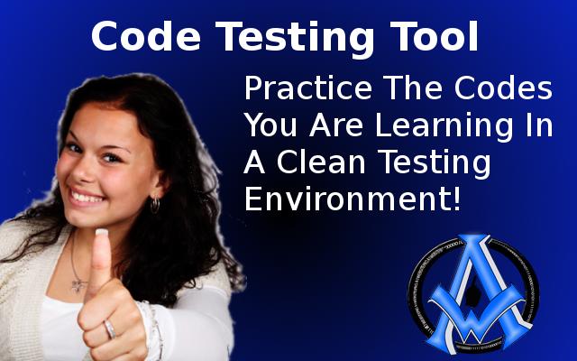 free code tester