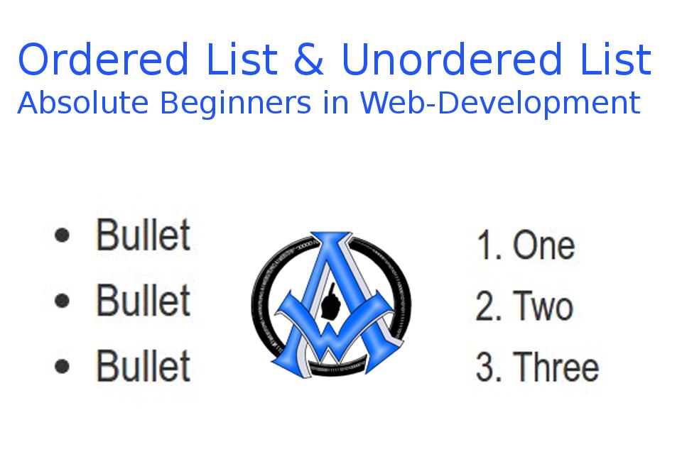 ordered-list-unordered-list-beginner-web-development
