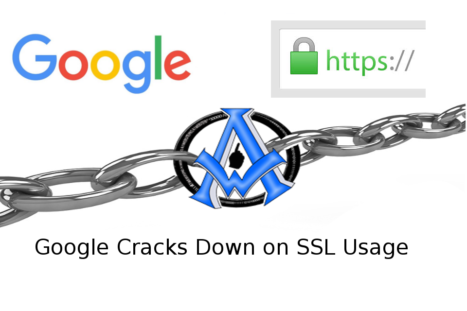 Starting October 2017 SSL Is required By Google Chrome