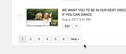 Scroll Through Videos