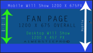 Facebook Fan Page Desktop View Size Of Header Graphic