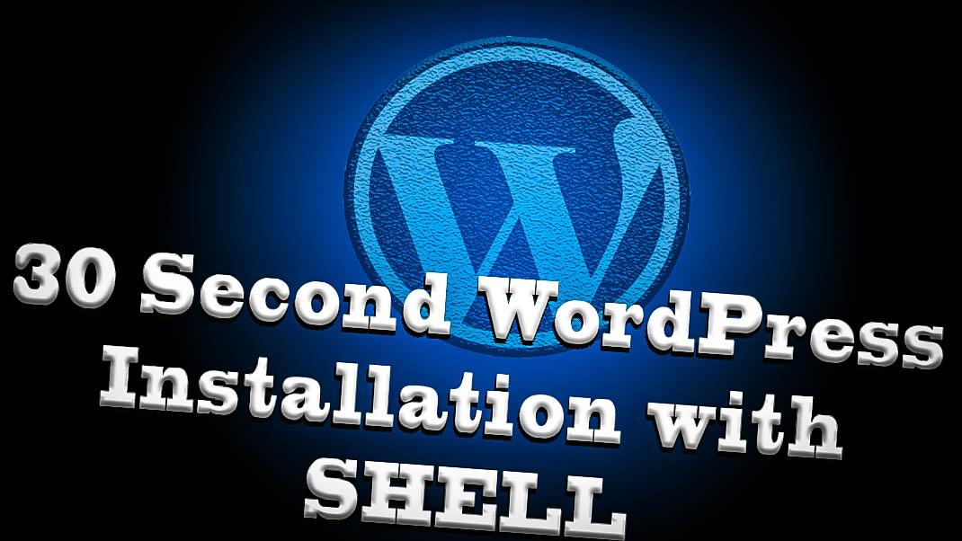 Install WordPress Shell Access Using wget Command Ubuntu Terminal